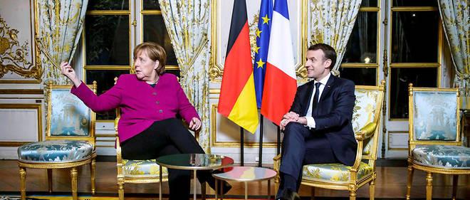 Angela Merkel est en visite à Paris pour préparer avec Emmanuel Macron les réformes « claires et ambitieuses » pour relancer une Europe « bousculée ».
