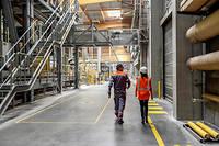 Le gouvernement instaure des super-accords de compétitivité qui se substitueront aux accords de maintien de l'emploi de François Hollande. ©Gilles ROLLE/REA