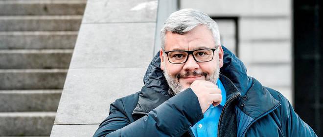"""Tristan Nitot, directeur des produits chez Cozy Cloud et auteur du livre """"Surveillance://""""."""