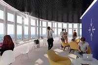 Collectif. En plus d'un logement moderne, les locataires disposent d'espaces communs design et connectés.