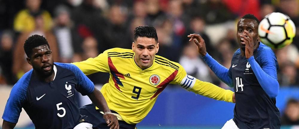 Falacao a inscrit le deuxième but colombien de cette rencontre.