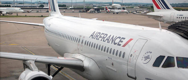 Un quart des vols Air France ont été annulés ce vendredi en raison d'une grève touchant tout le personnel de la compagnie.