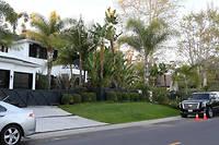 La maison de Johnny et Laeticia Hallyday à Pacific Palisades, en Californie.