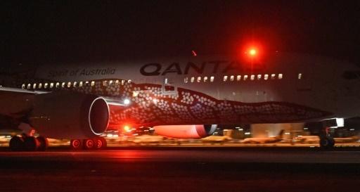 Carte Vol Qantas Australie.Premier Vol Direct Sans Escale Entre L Australie Et L Europe