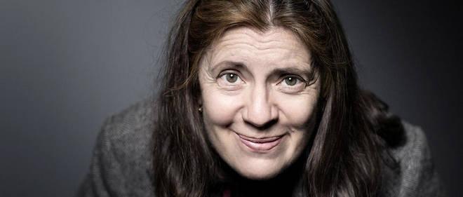 """Milena Agus à Paris pour la sortie de son nouveau roman """"Terres promises""""."""