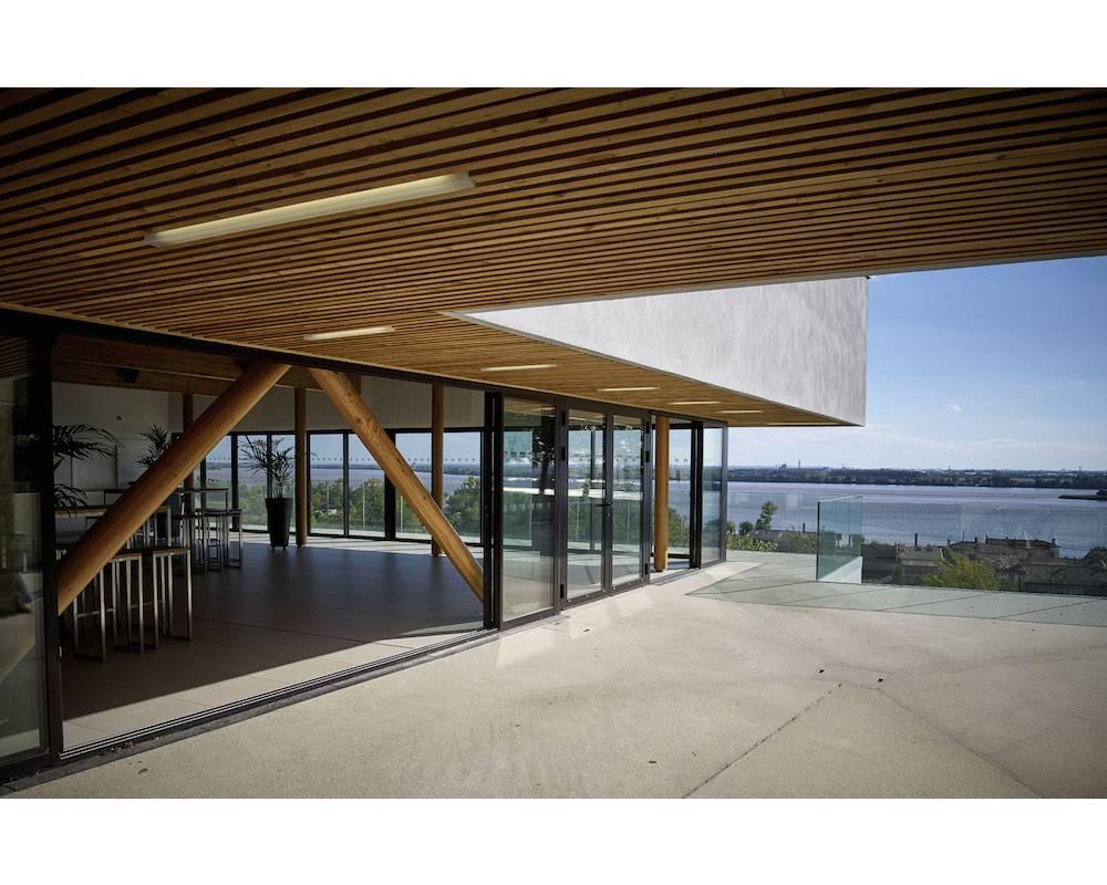 Maison des vins des Côtes de Bourg. ©  BDM Architectes