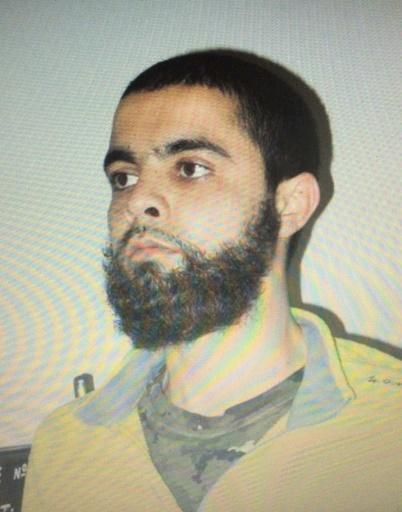 """Photo non datée de Radouane Lakdim, un Franco-marocain de 25 ans fiché """"S"""" depuis 2014 et auteur de l'attaque terroriste de Trèbes, dans l'Aude © Handout -/AFP/Archives"""
