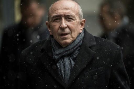 Gérard Collomb, ministre de l'Intérieur le 18 mars 2018 à Paris © CHRISTOPHE ARCHAMBAULT  AFP