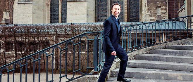 «Monsieur Patrimoine». Stéphane Bern, ici à Reims le 23mars, a été nommé en septembre 2017 à la tête d'une mission d'identification et de sauvegarde du patrimoine en péril.