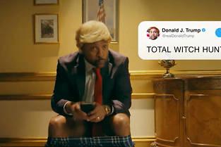 Shaggy parodie Trump dans le Late Late Show de James Corden.
