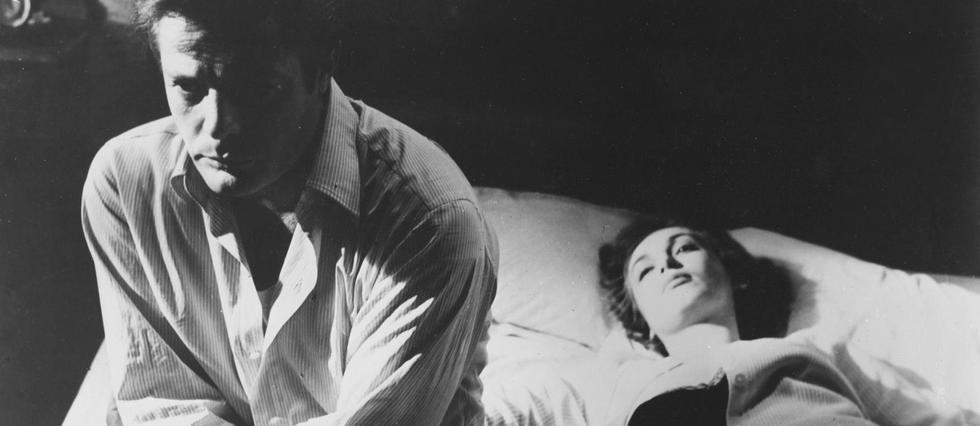 <p>Marcello Mastroianni et Claudia Cardinale dans Le Bel Antonio.</p>