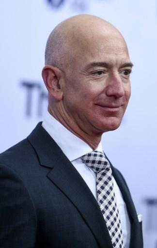 Jeff Bezos, le patron d'Amazon, à Washington le 14 décembre 2017  © Leigh Vogel GETTY IMAGES NORTH AMERICA/AFP