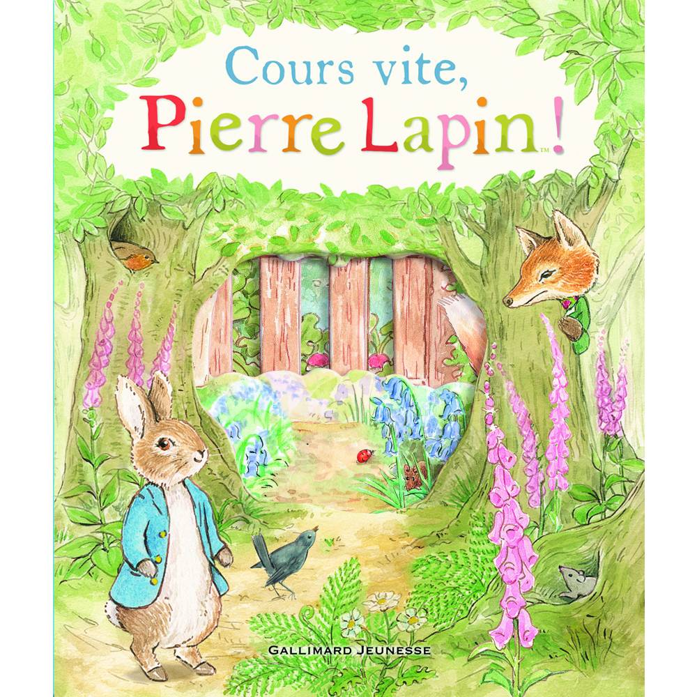 Pierre Lapin ©  Gallimard Jeunesse