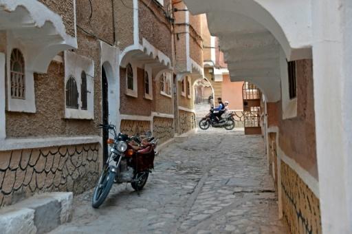 Des rues ombragées à Ksar Tafilelt, le 7 novembre 2017 en Algérie © RYAD KRAMDI AFP