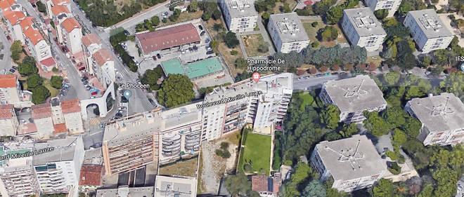 L'échange de coups de feu a eu lieu devant la cité Pierre-Renard, dans le 10e arrondissement de Marseille.