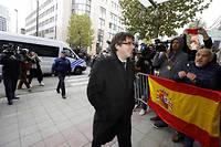 Carles Puigdemont à Bruxelles.