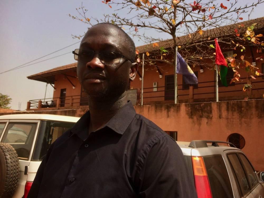 Le directeur de la police judiciaire de Bissau Juscelino De Gaulle Cunha Pereira.  ©  Lorraine Mallinder