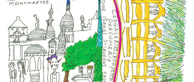 Enfance de l'art. Croquis parisiens, par Dany Laferrière