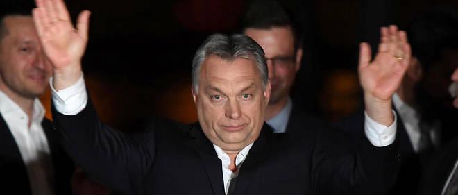 Le Premier ministre hongrois Viktor Orban, le 8 avril 2018.