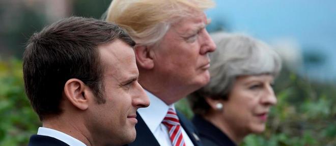 Le président français Emmanuel Macron, le président américain Donald Trump et la Première ministre Theresa May ont-ils trouvé une position commune concernant l'attitude à adopter en Syrie ?