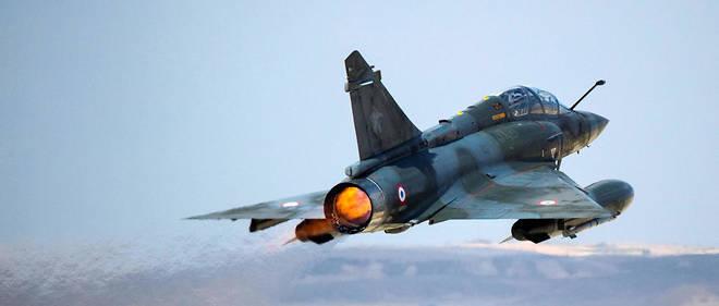 Un Mirage 2000D au décollage lors d'un exercice. Photo d'illustration.