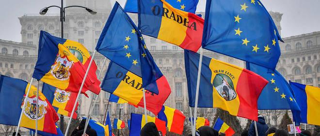 Des manifestations contre la corruption et contre la coalition au pouvoir ont eu lieu devant le Parlement roumain après les annonces du ministre de la Justice, le 6 mars dernier.