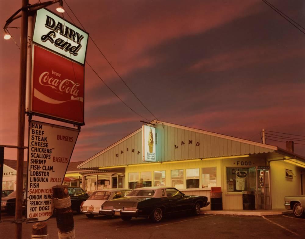 Dairyland, Provincetown, 1976 de Joel Meyerowitz © Joel Meyerowitz Collection Florence et Damien Bachelot