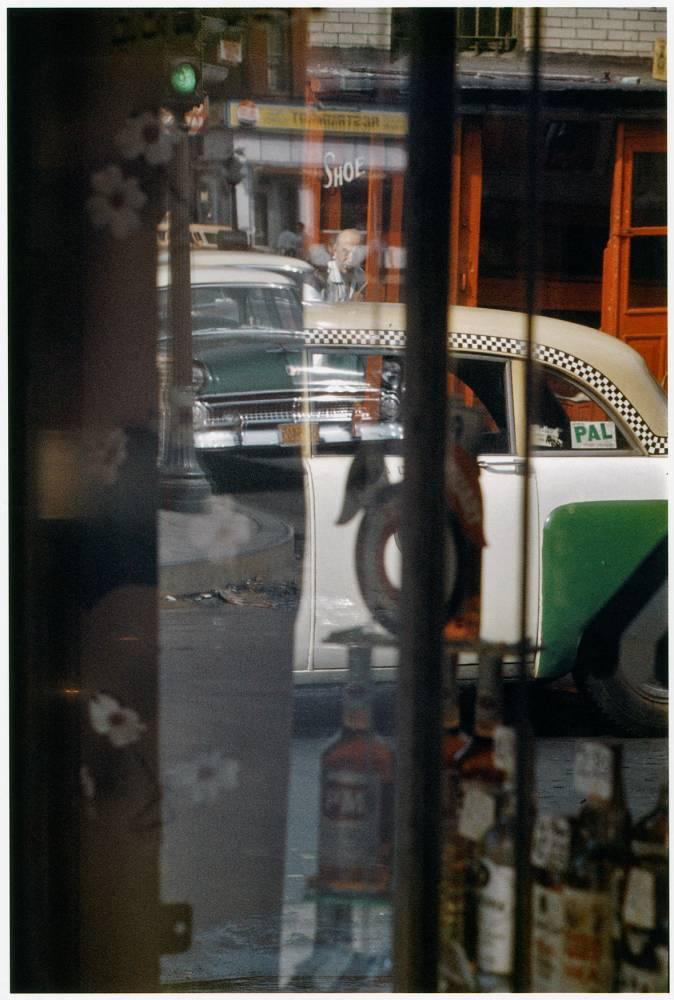 Phone Call, 1957 de Saul Leiter © Saul Leiter Collection Florence et Damien Bachelot