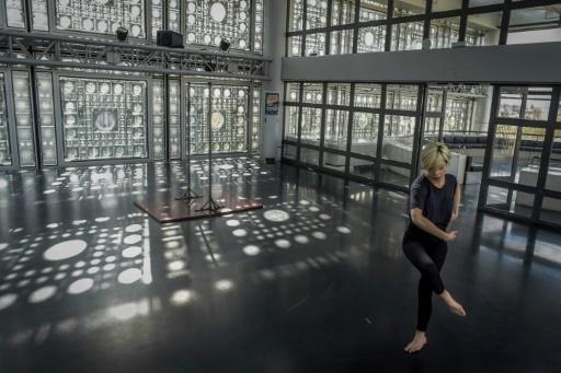 Cette semaine, elle participe à la première édition du Printemps de la danse arabe, festival organisé par l'Institut du monde arabe © LUCAS BARIOULET AFP