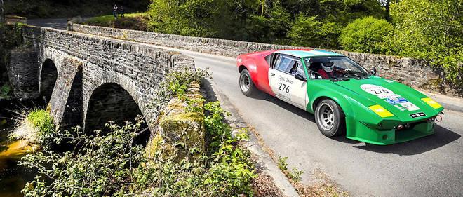 Pouvoir admirer la légendaire De Tomaso Pantera Gr IV en action. Elle avait participé – comme toutes les concurrentes de ce rallye – au Tour de France automobile en 1972.