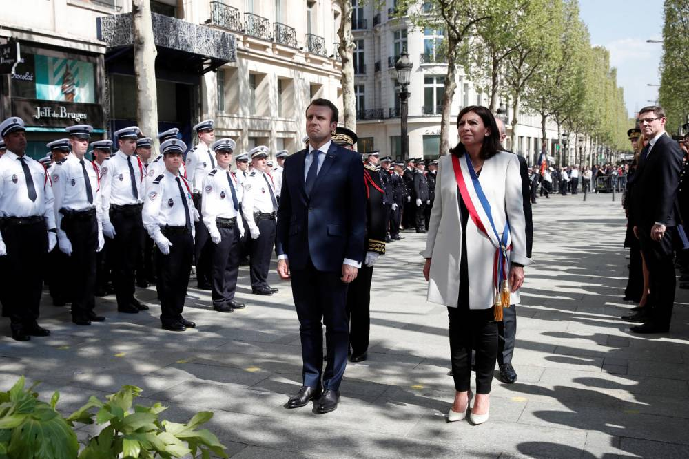 FRANCE-POLITICS-POLICE-TRIBUTE-CEREMONY © BENOIT TESSIER BENOIT TESSIER / POOL / AFP