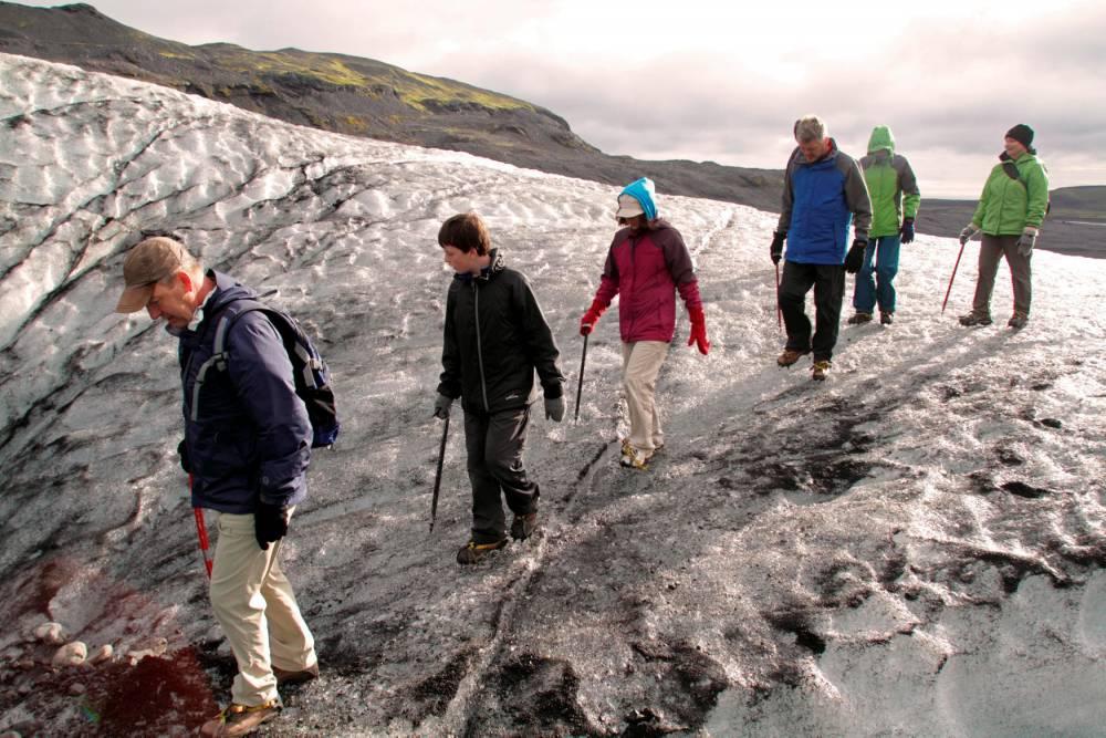 Le glacier Myrdalsjökull ©  John Warburton Lee  John Warburton Lee / hemis.fr