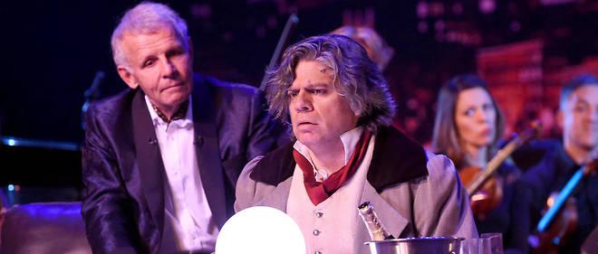 Dans « Patrick et ses fantômes », le journaliste incarne un mélomane averti qui convoque les plus grands compositeurs dans son salon.