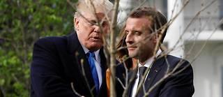 Sur le nucléaire iranien, la sortie des États-Unis de l'accord sur le climat, ou encore la guerre commerciale à l'Europe et au reste du monde, il y a peu de chances qu'Emmanuel Macron obtienne quoi que ce soit. Par contre, l'espoir demeure que les États-Unis reconsidèrent leur position sur leur présence militaire en Syrie.