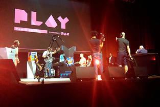Première édition du Festival Play by PAX à Paris.  ©DR