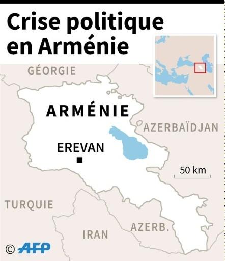 Crise politique en Arménie © Laurence SAUBADU, Jean-Michel CORNU, Vincent LEFAI AFP