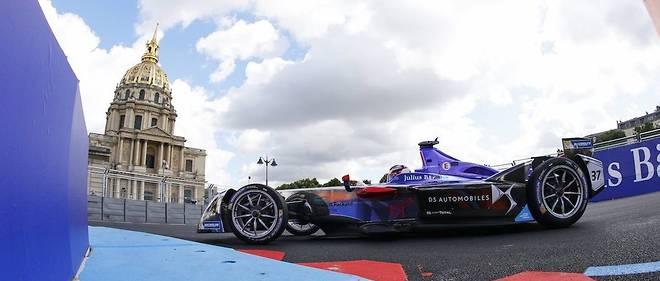 Pour la 3e fois, Paris accueille une manche de Formule E aux Invalides. C'est un Français, Jean-Éric Vergne (Techeetah) qui domine actuellement le championnat.