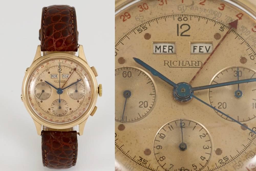 Calendrier 1960 Avec Les Jours.Chronographes Triple Calendrier Triples Beautes Aux