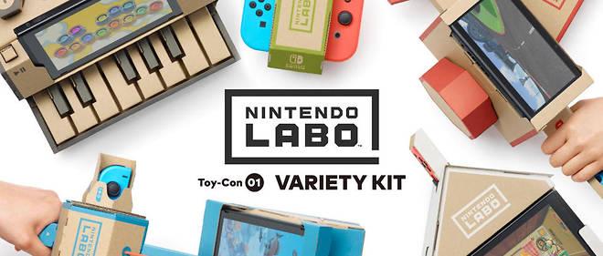 Le Nintendo Labo a été lancé le 27 avril.