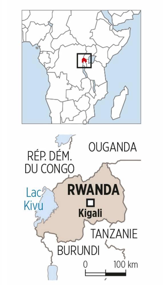 Carte Rwanda © SP