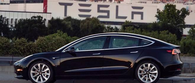 La Tesla Model 3 souffre d'une montée en cadence très inférieure aux prévisions