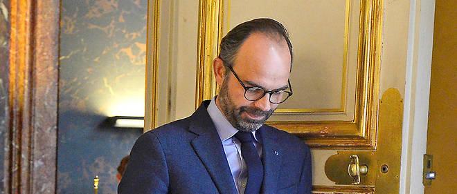 Édouard Philippe le 9 avril.
