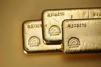 Blason. « Fairmined » pour « extraction équitable » : ce label atteste la provenance de l'or produit de manière responsable. Les marques s'offrent, en se positionnant sur une joaillerie éthique, une image positive qui n'a pas de prix.  ©Jean-Daniel MEYER/Chopard