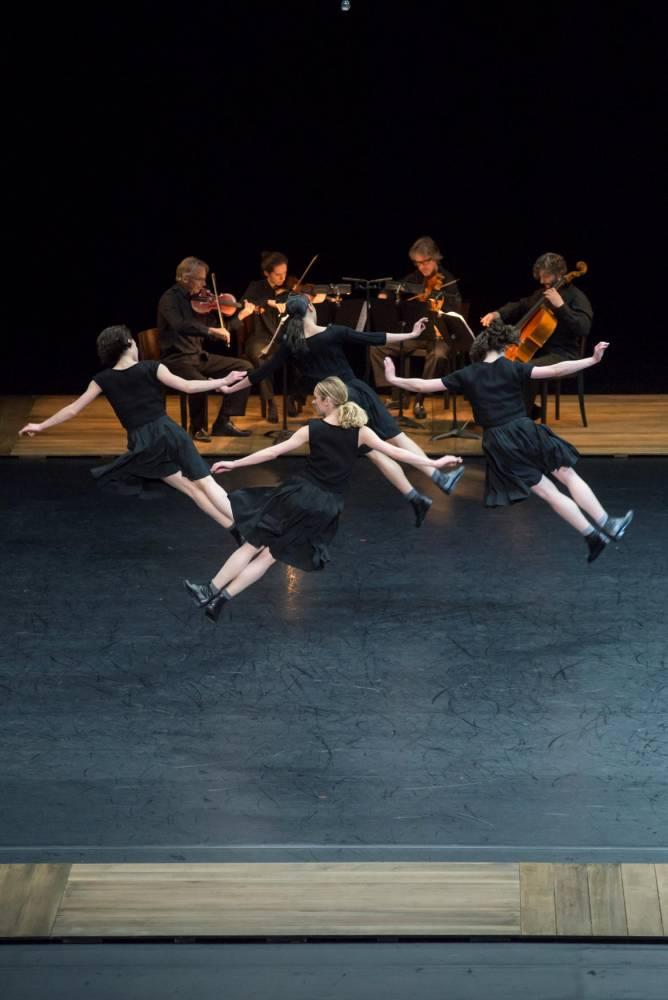 Quatuor  Bartok Anne-Teresa de Keersmaeker ©   Benoite FANTON