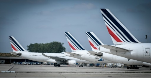 Enlisé depuis février, le conflit salarial à Air France a pris un nouveau tour après la démission du PDG d'Air France-KLM Jean-Marc Janaillac © STEPHANE DE SAKUTIN AFP/Archives