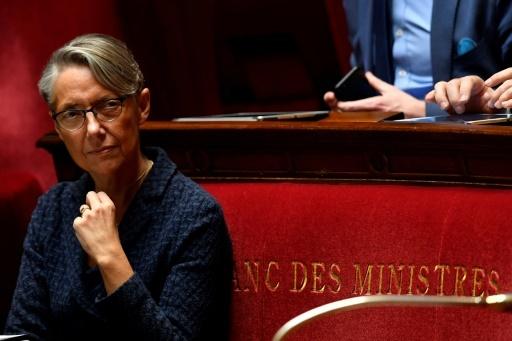Elisabeth Borne le 17 avril 2018 à l'assemblée © GERARD JULIEN AFP/Archives