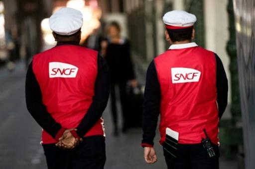 Les cheminots sont depuis un mois en grève, par épisodes de deux jours sur cinq, pour s'opposer à la réforme de la SNCF © Christophe SIMON AFP/Archives