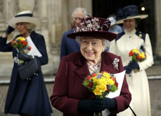 La reine Elizabeth II, le 12 mars 2018 à Londres © KIRSTY WIGGLESWORTH POOL/AFP/Archives