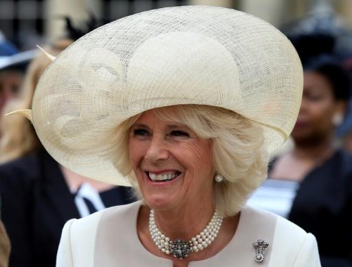 Camilla, duchesse de Cornouailles, le 19 mai 2016 à Londres © Jonathan Brady POOL/AFP/Archives