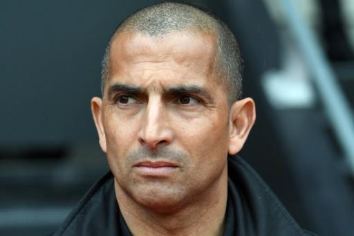 L'entraîneur de Rennes, Sabri Lamouchi, lors du match de L1 face à Toulouse, au Roazhon Park, le 29 avril 2018  © FRED TANNEAU AFP/Archives
